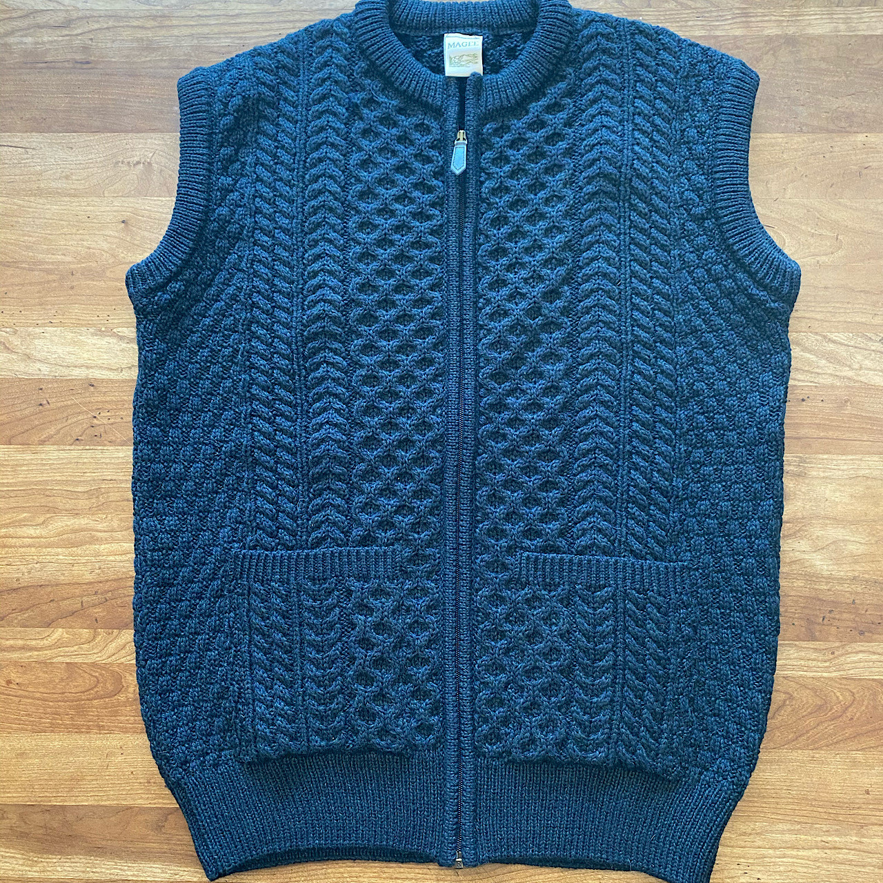 Wool Irish Sweater Vest
