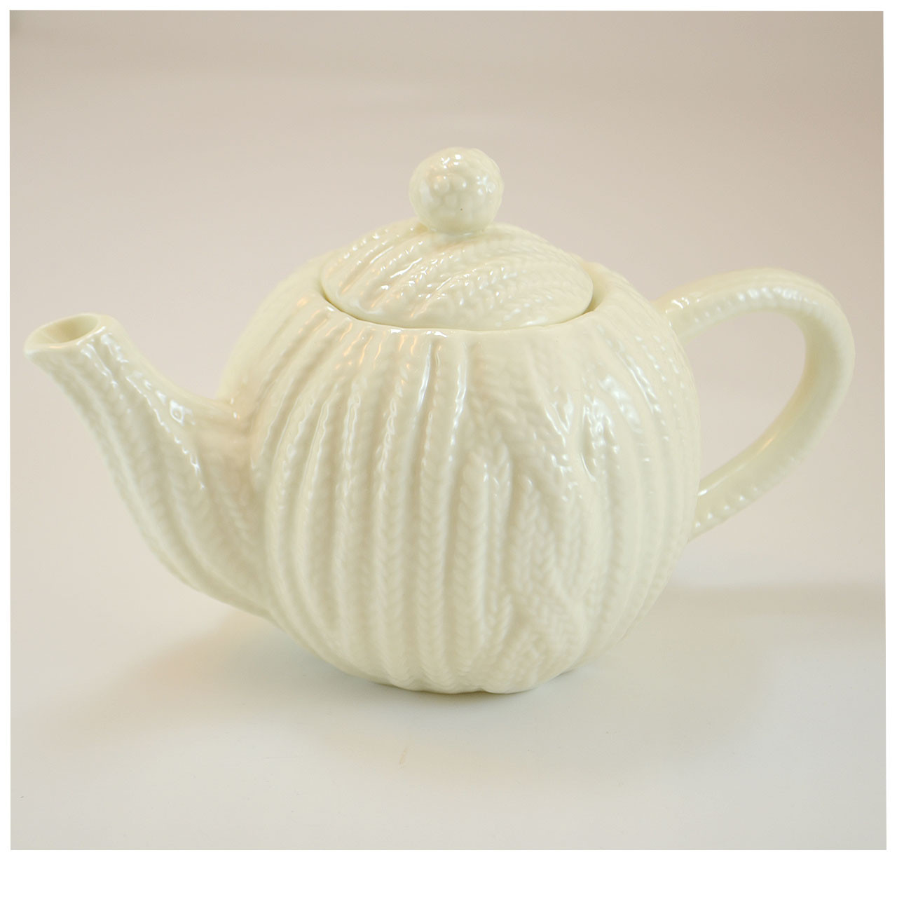Mini Aran Teapot