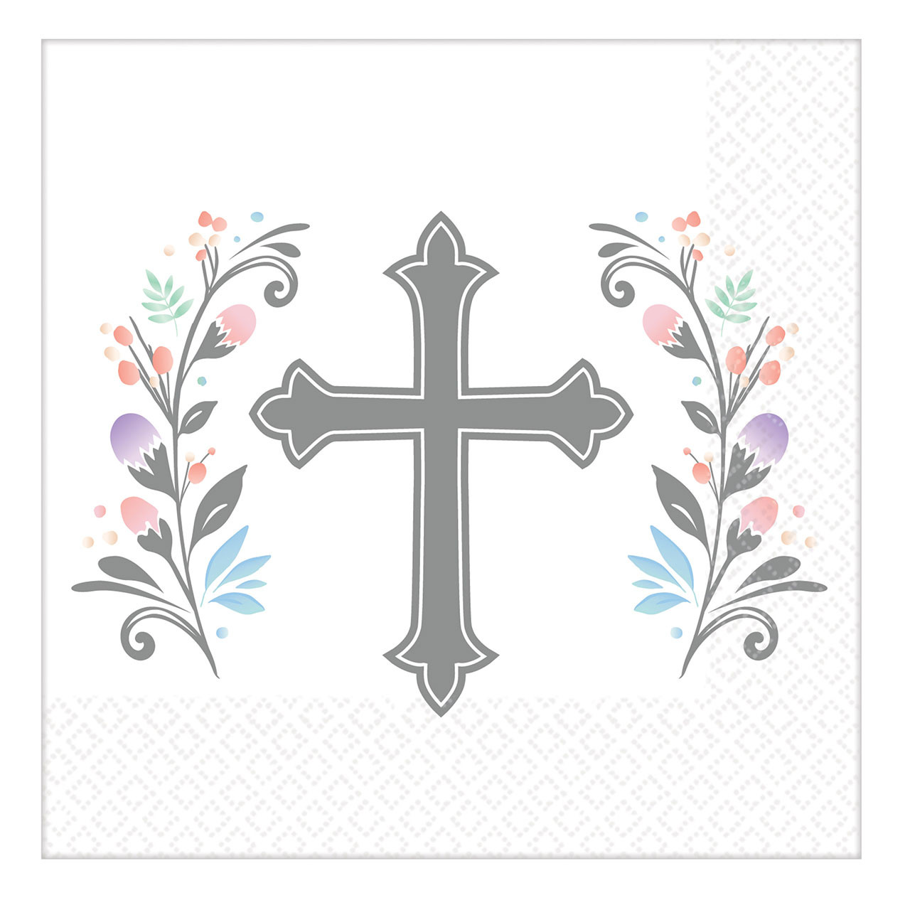 Holy Day Cross Beverage Napkins 36 qty