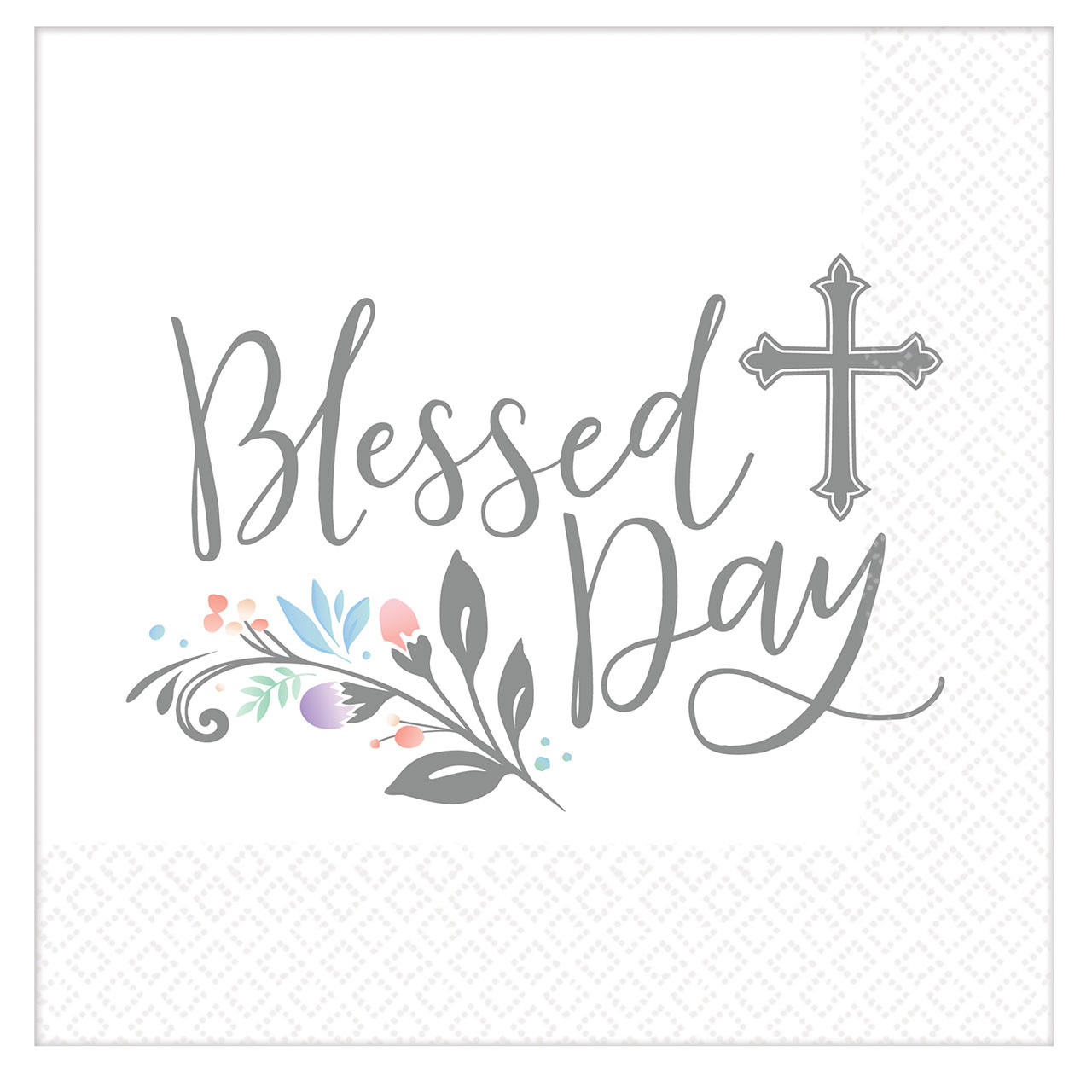 36 Blessed Holy Day Communion Lunch Napkins