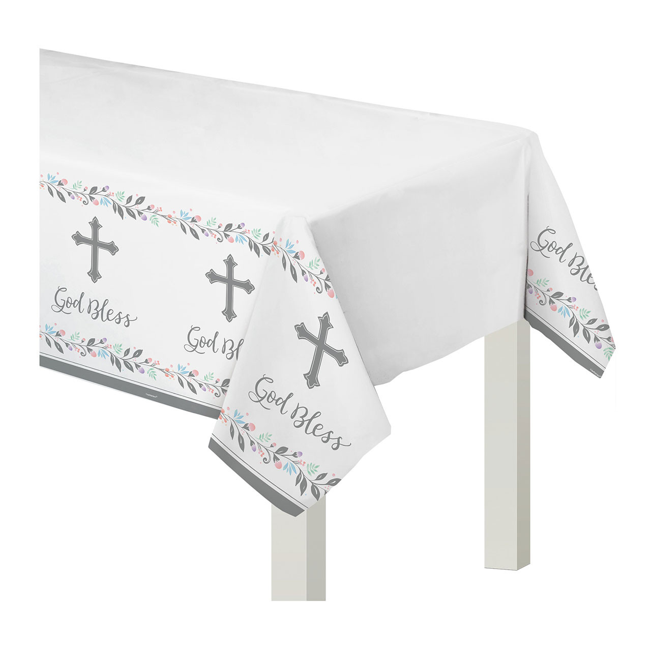 Holy Day Communion Party Plastic Table Cover