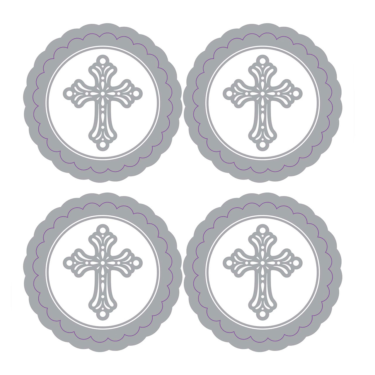 First Communion Religious Stickers/Pkg of 20