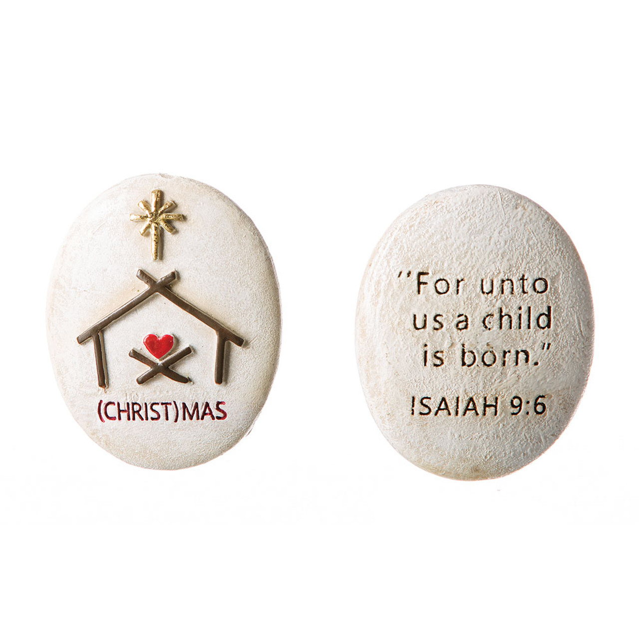 (Christ)Mas Pocket Stone
