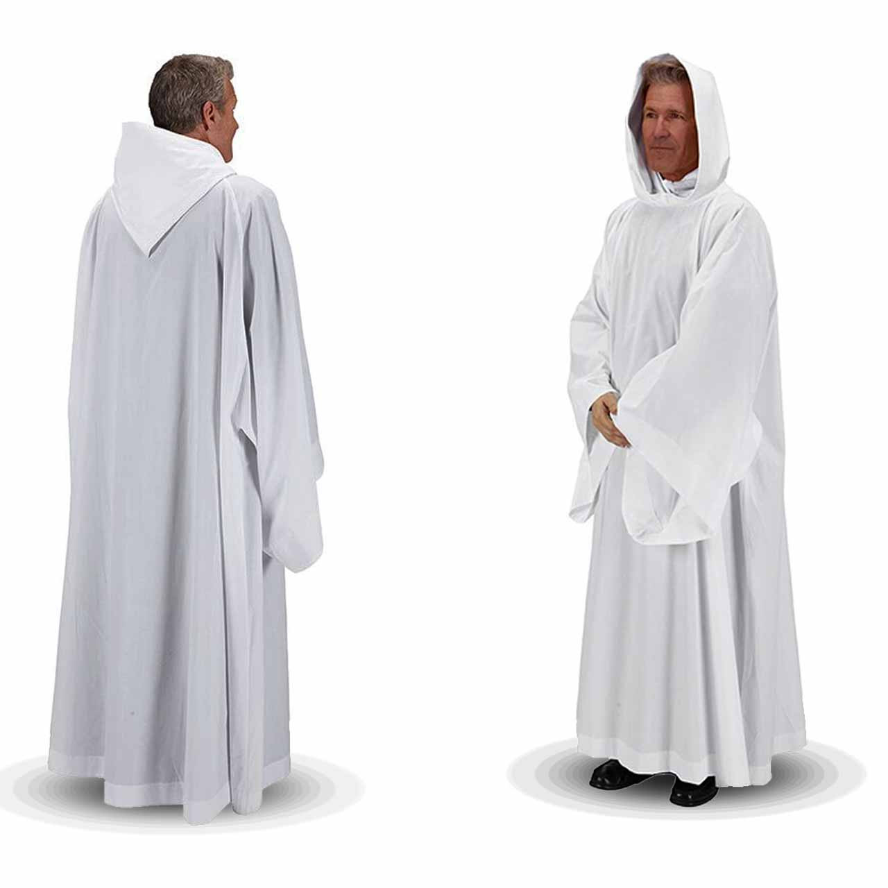 F2650 Hooded Monastic Alb from R.J. Toomey
