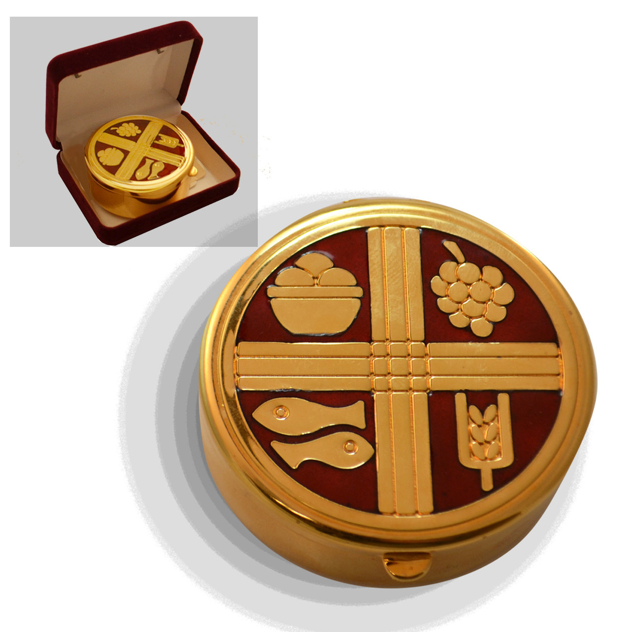 AS 400 Gold Plate Pyx from Artistic Silver
