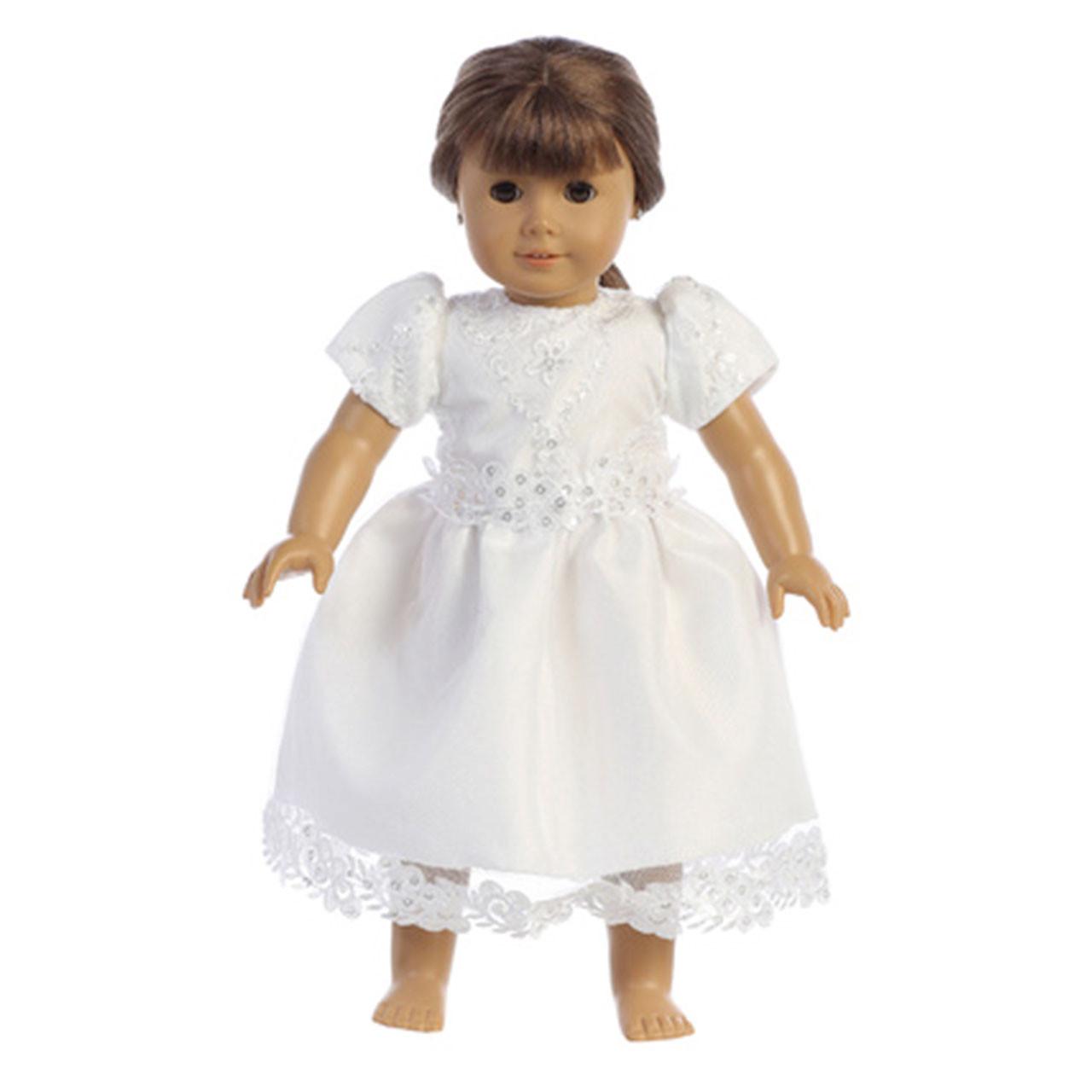 "Doll Communion Dress ""Victoria"""
