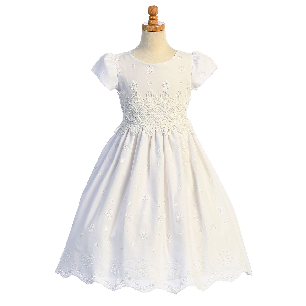 Front of Jenny First Communion Dress