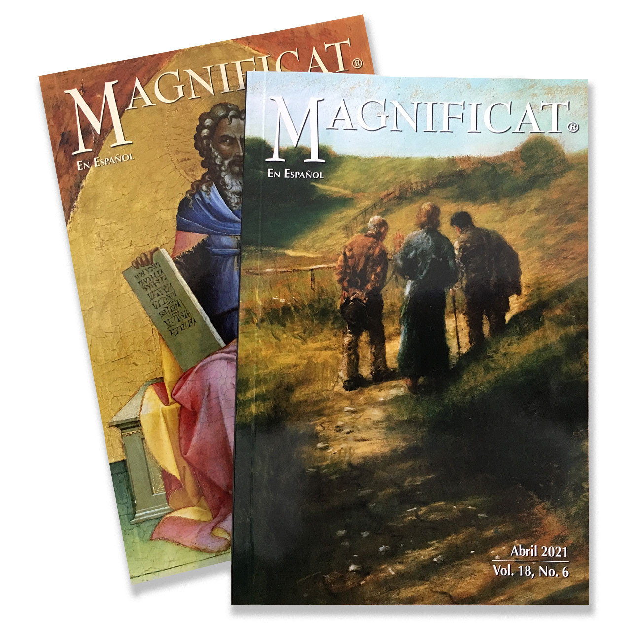 Spanish Magnificat booklet sold individually by month