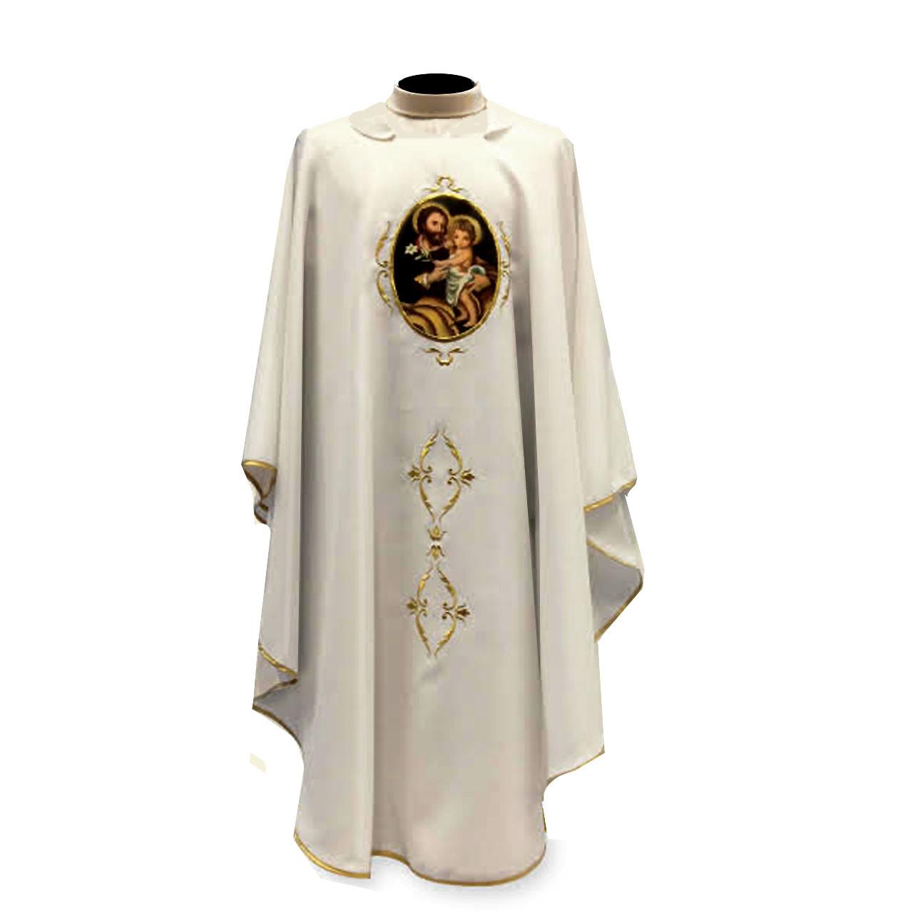 644 Year of Saint Joseph Chasuble from Solivari