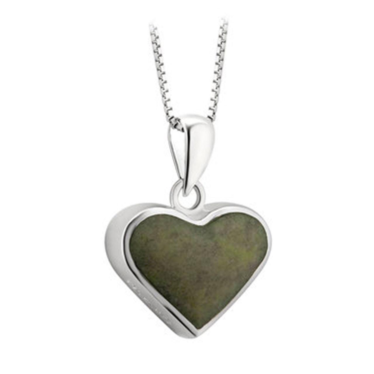 Heart Connemara Pendant