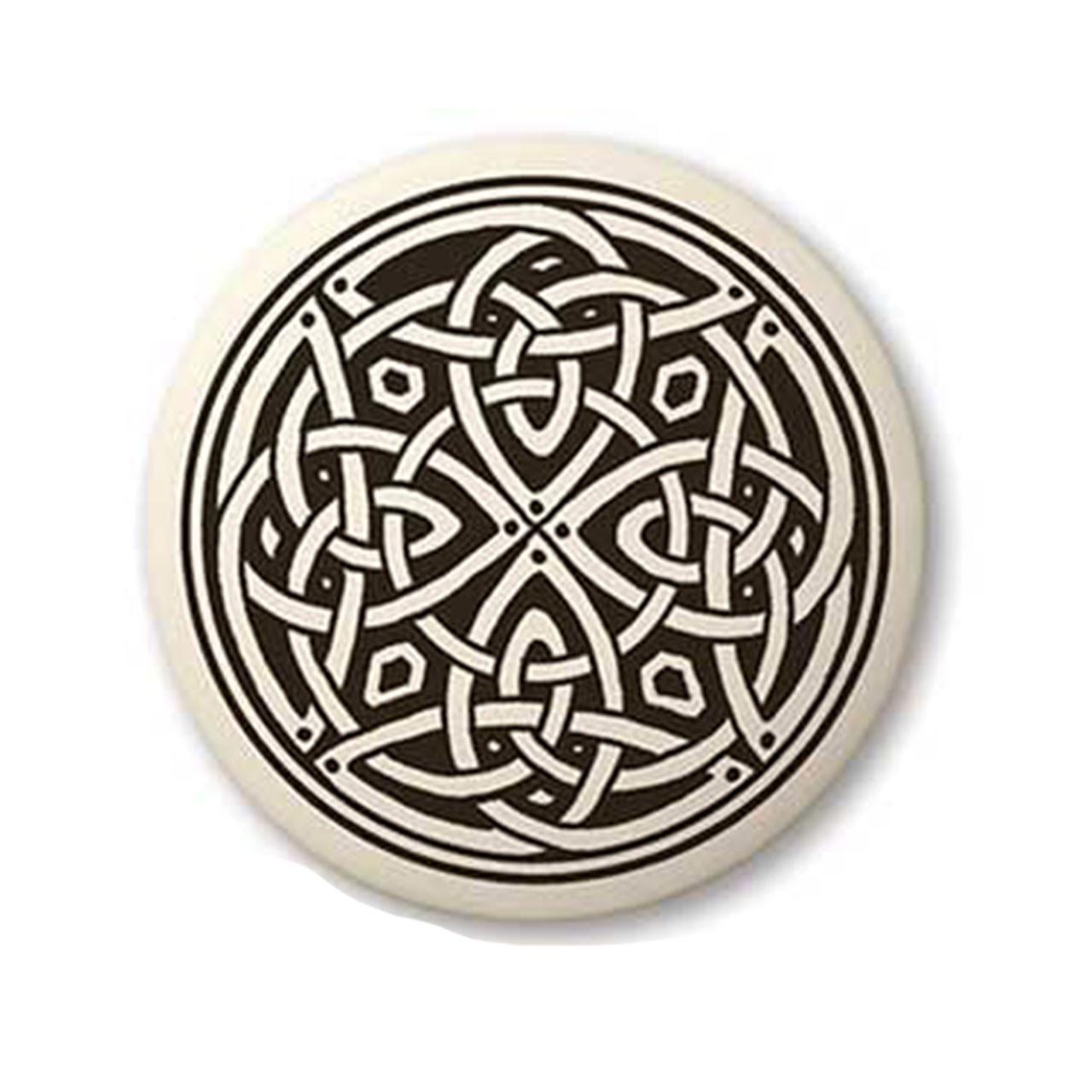 Round Celtic Knotwork Pendant