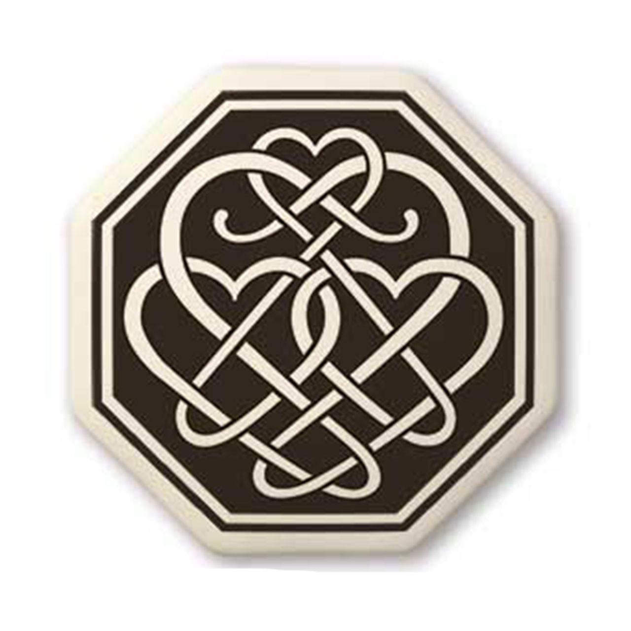 Octagon Celtic Pendants