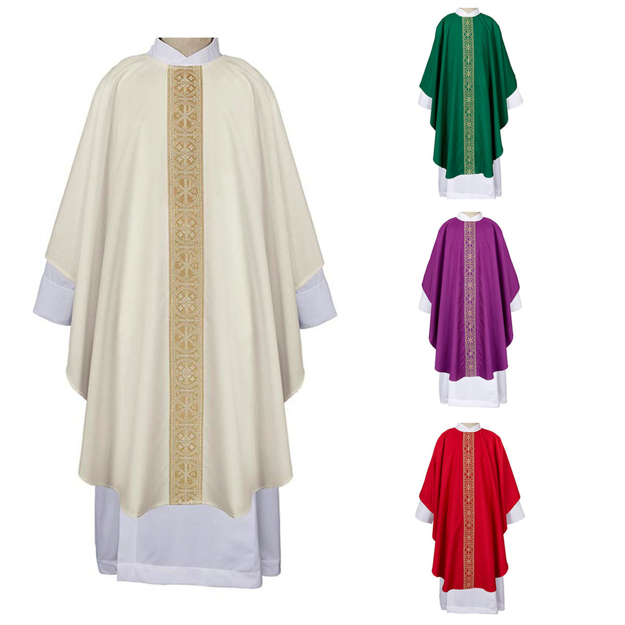 G4061 San Damiano Chasuble from R.J. Toomey
