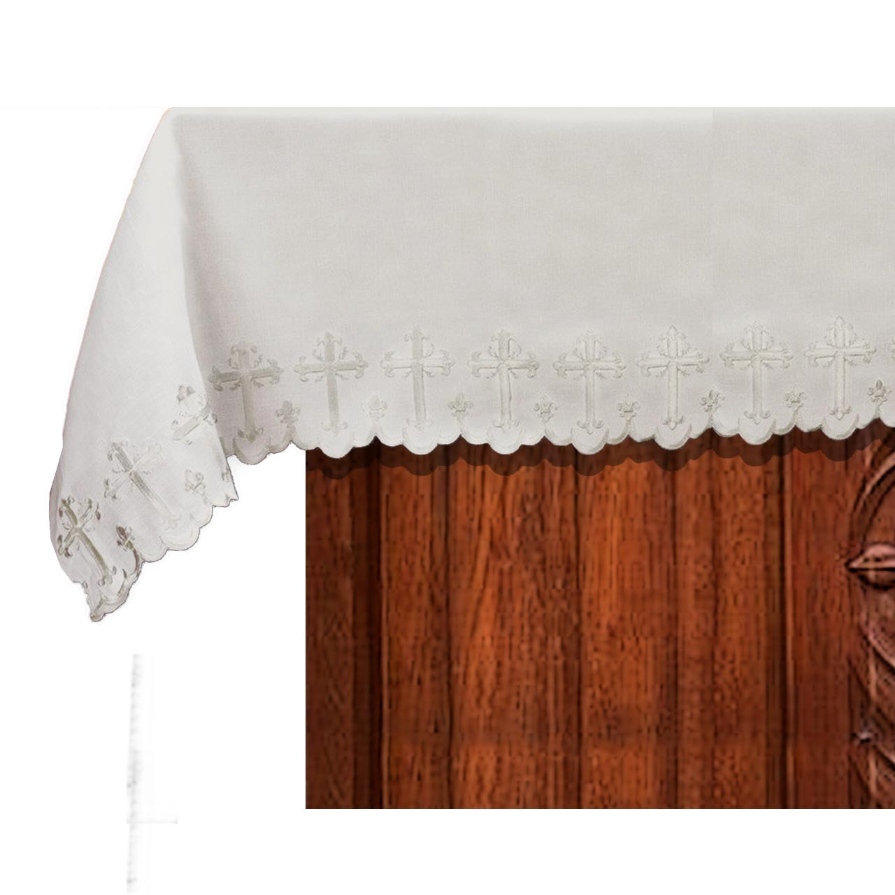 D2272 Two-Sided Scallop-Edged Altar Frontal