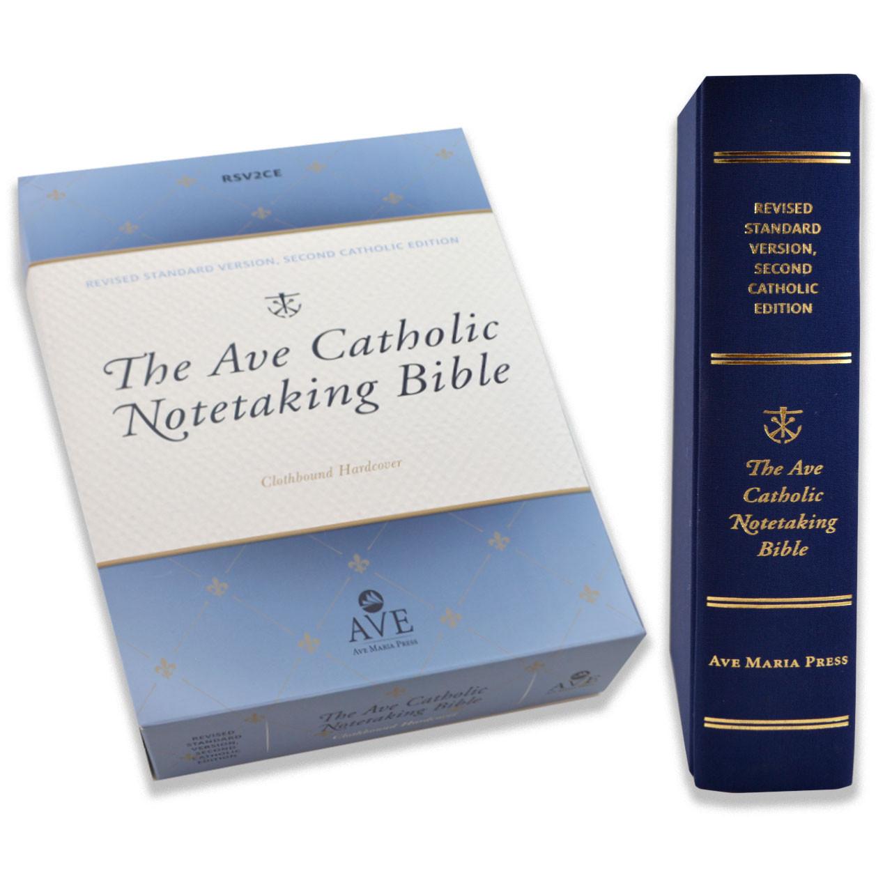 The Ave Catholic Notetaking Bible