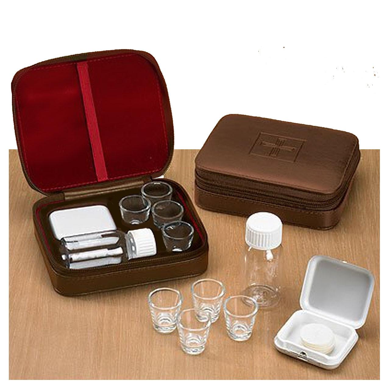 PS839 4-Cup Portable Communion Set