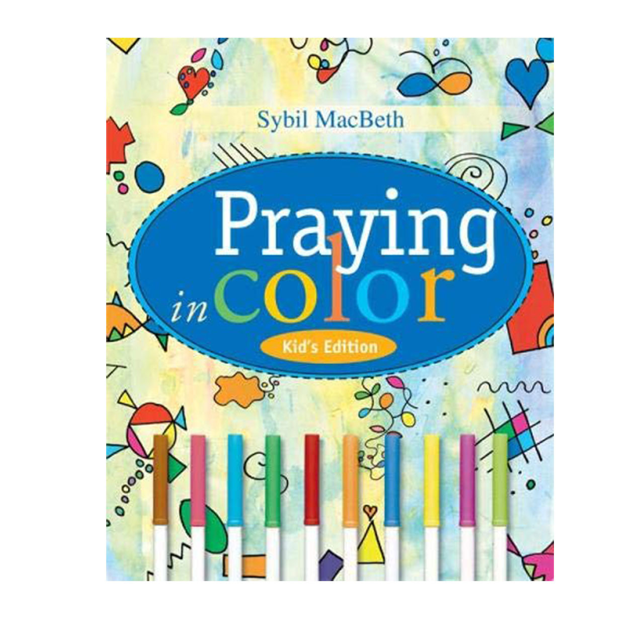 Cover image of Praying in Color Kid's Edtion Book