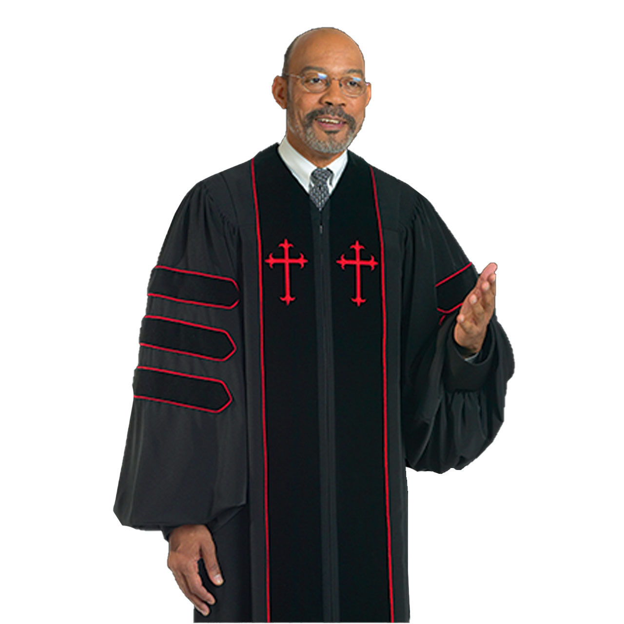H-123 Doctor of Divinity Pulpit Robe