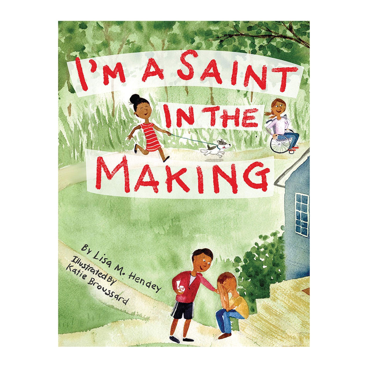 Cover image of I'm a Saint in the Making Book