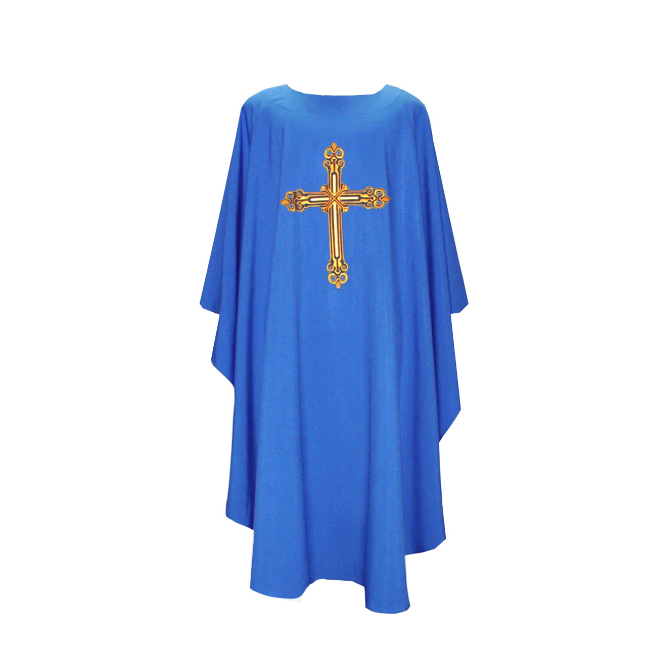 BV 2026 Chasuble w/Embroidered Cross Design