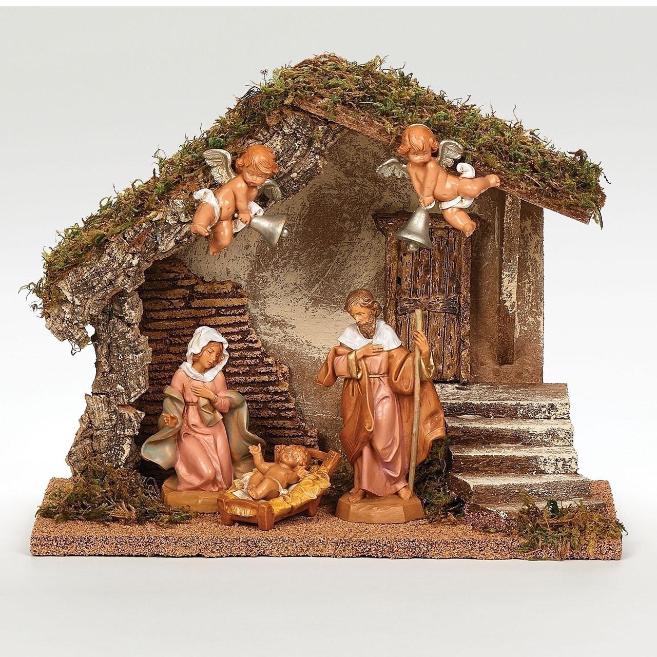 Fontanini Wedding Nativity Set with 5 figures