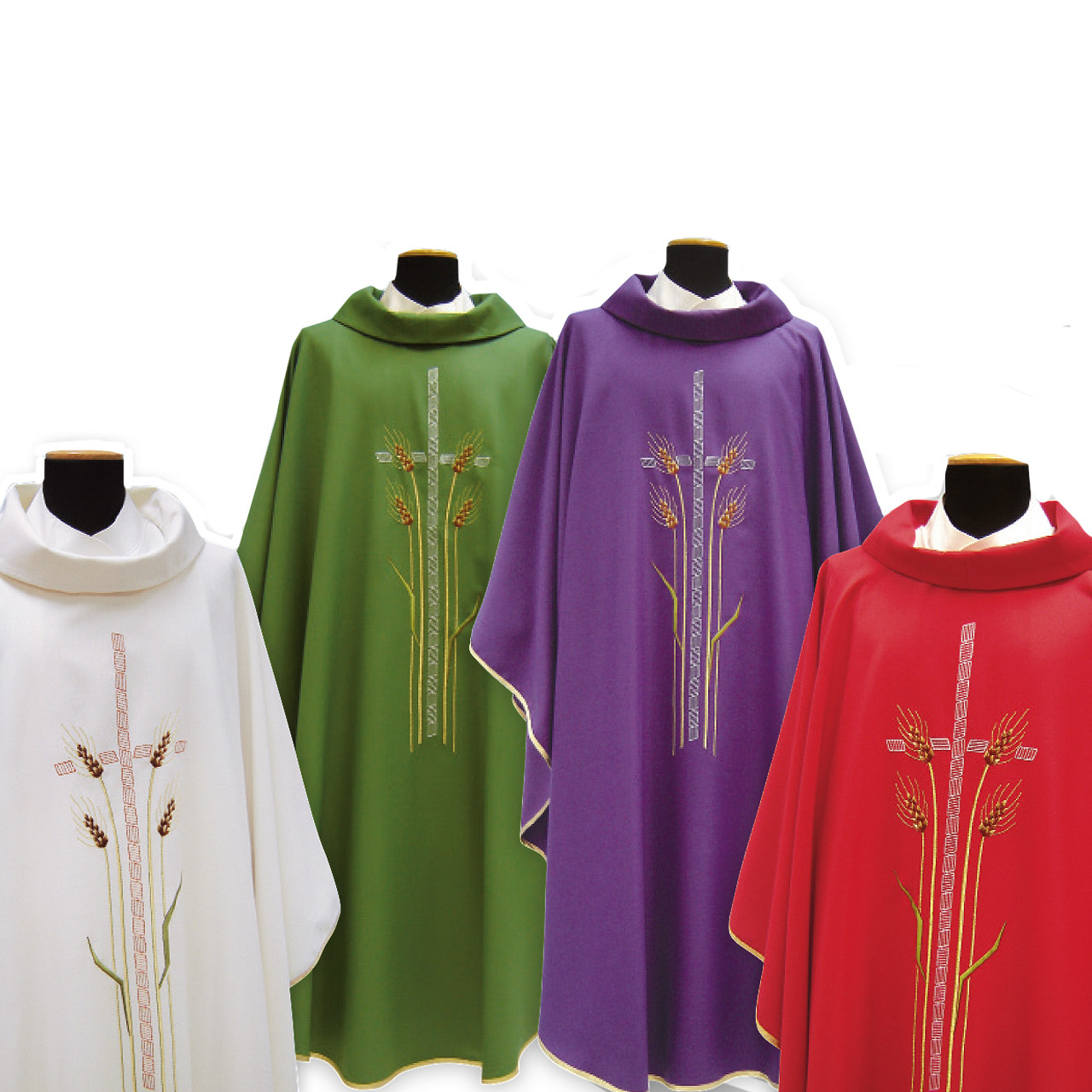 812 Chasuble in Poly/Wool from Solivari