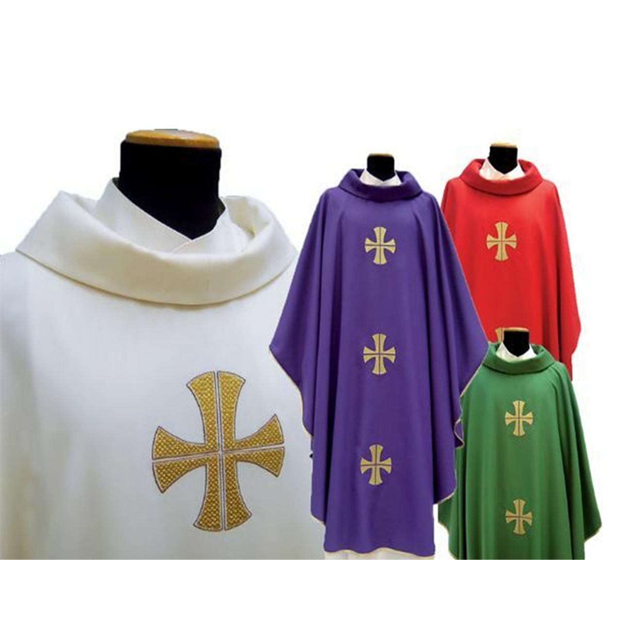 318 Chasuble in Monastico Fabric
