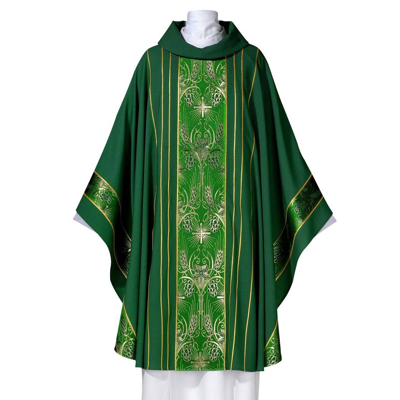 102-0404 Green Torino Chasuble from Arte-Grosse