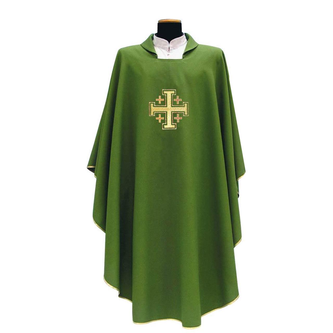 137 Chasuble in Green Primavera