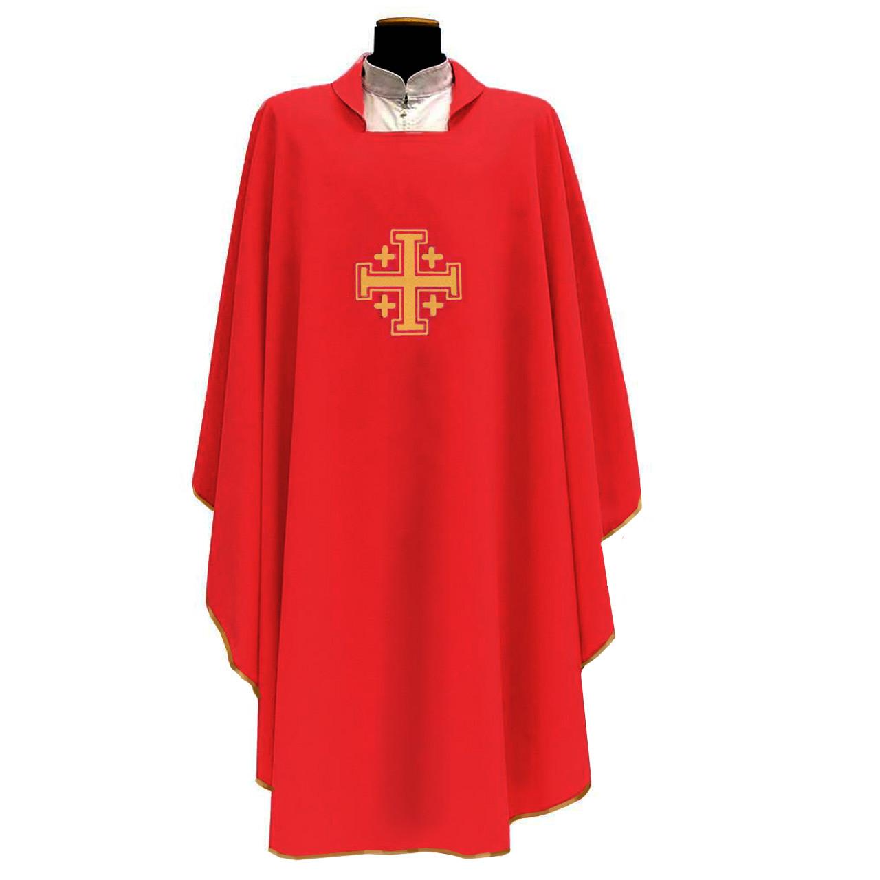 137 Chasuble in Red Primavera