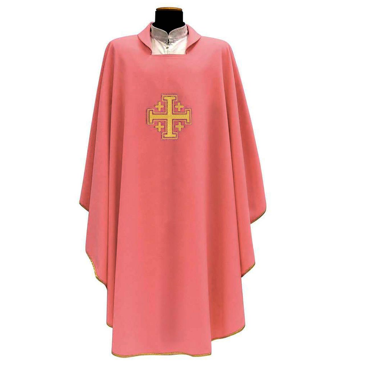 137 Chasuble in Rose Primavera