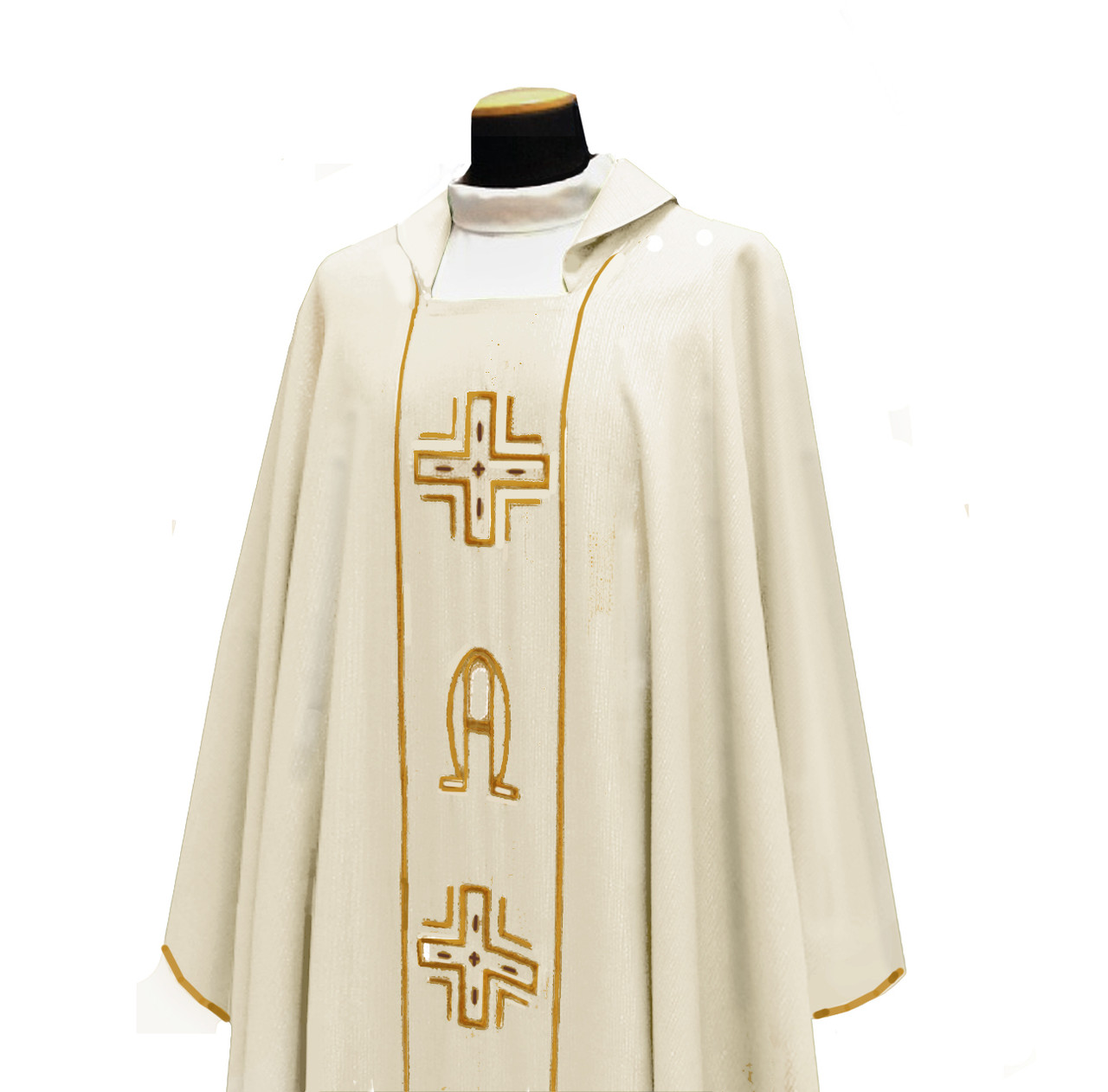 634 Chasuble in Lana Barre