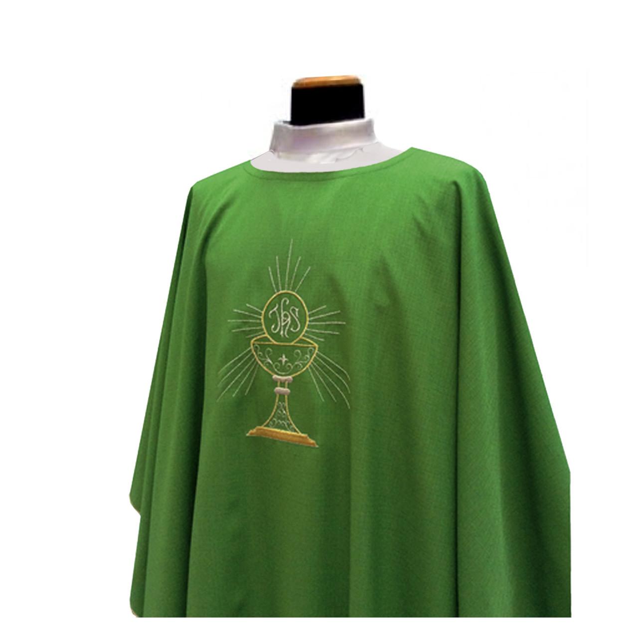 333 Chasuble in Micro Monastico from Solivari