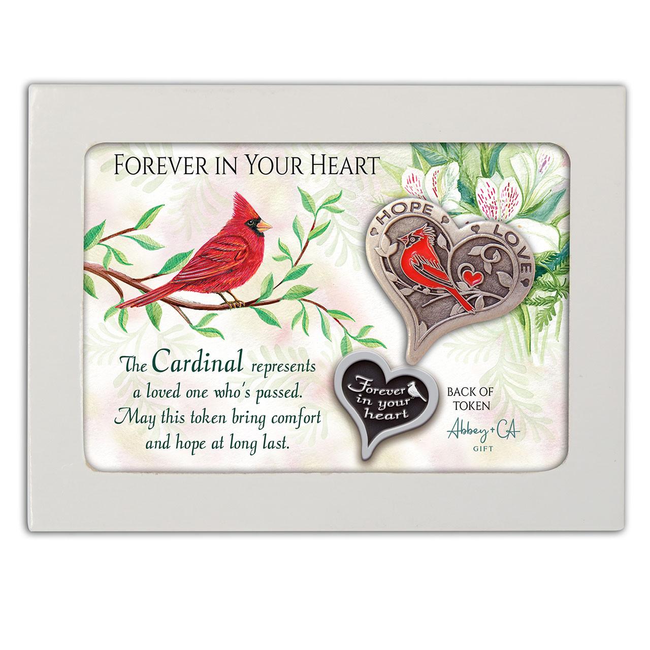 Cardinal Memorial Token