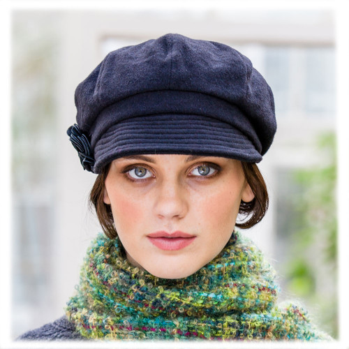 Irish-made Newsboy Cap for Women
