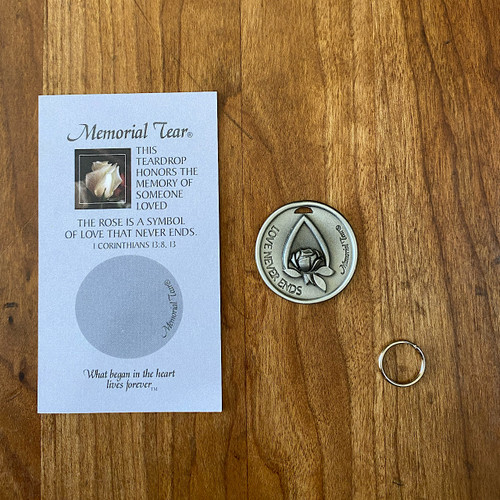 Memorial Tear Pocket Token