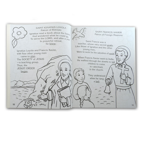 The Saints Coloring Book