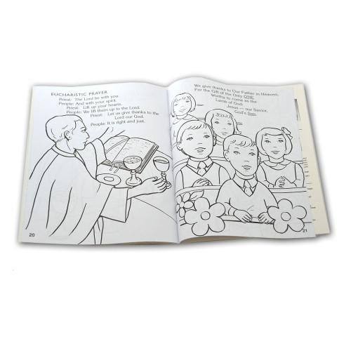 Mass Coloring Book