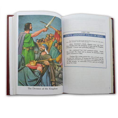 The Catholic Children's Bible, Burgundy Cover