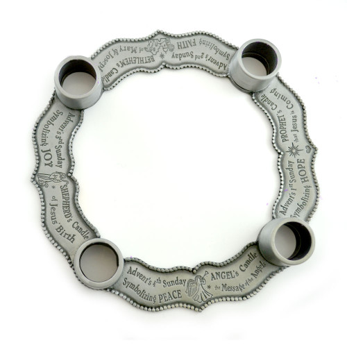 Pewter Advent Wreath