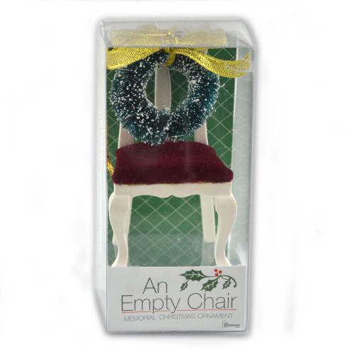An Empty Chair Memorial Ornament