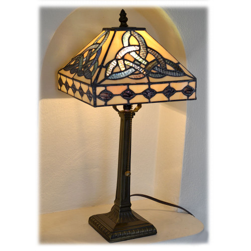 Tiffany Celtic Knot Lamp