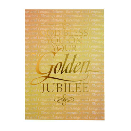 Assorted Ordination and Jubilee Cards - Sold Individually