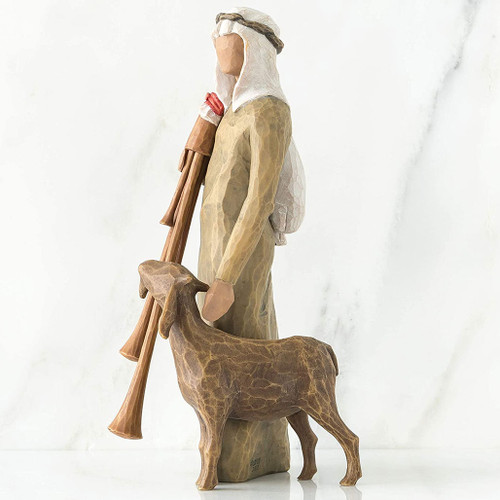 Zampognaro Shepherd With Bagpipe Demdaco
