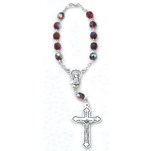 Birthstone Auto Rosary