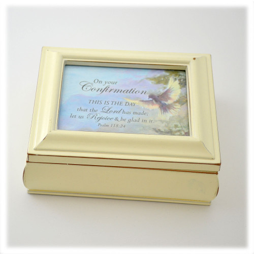 Black or Ivory Confirmation Box - Non-Music