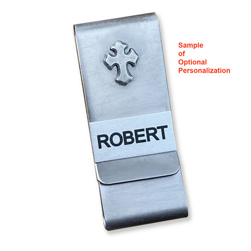 Sample of Optional Money Clip Personalization