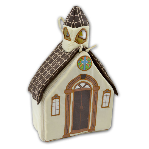 Let's Go To Church Plush Fabric Child Playset