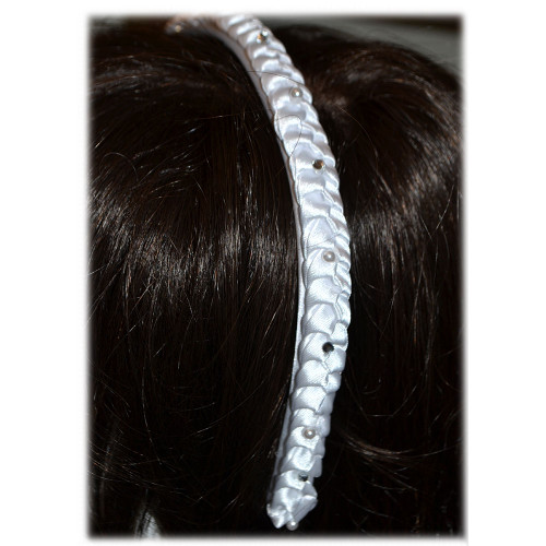 First Communion Headband with No Veil