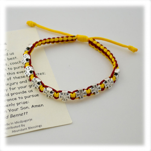 Cross Faith Sports Bracelets in 2 Colors - Each Sold Separately